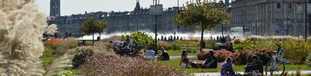 Parc urbain Bordeaux
